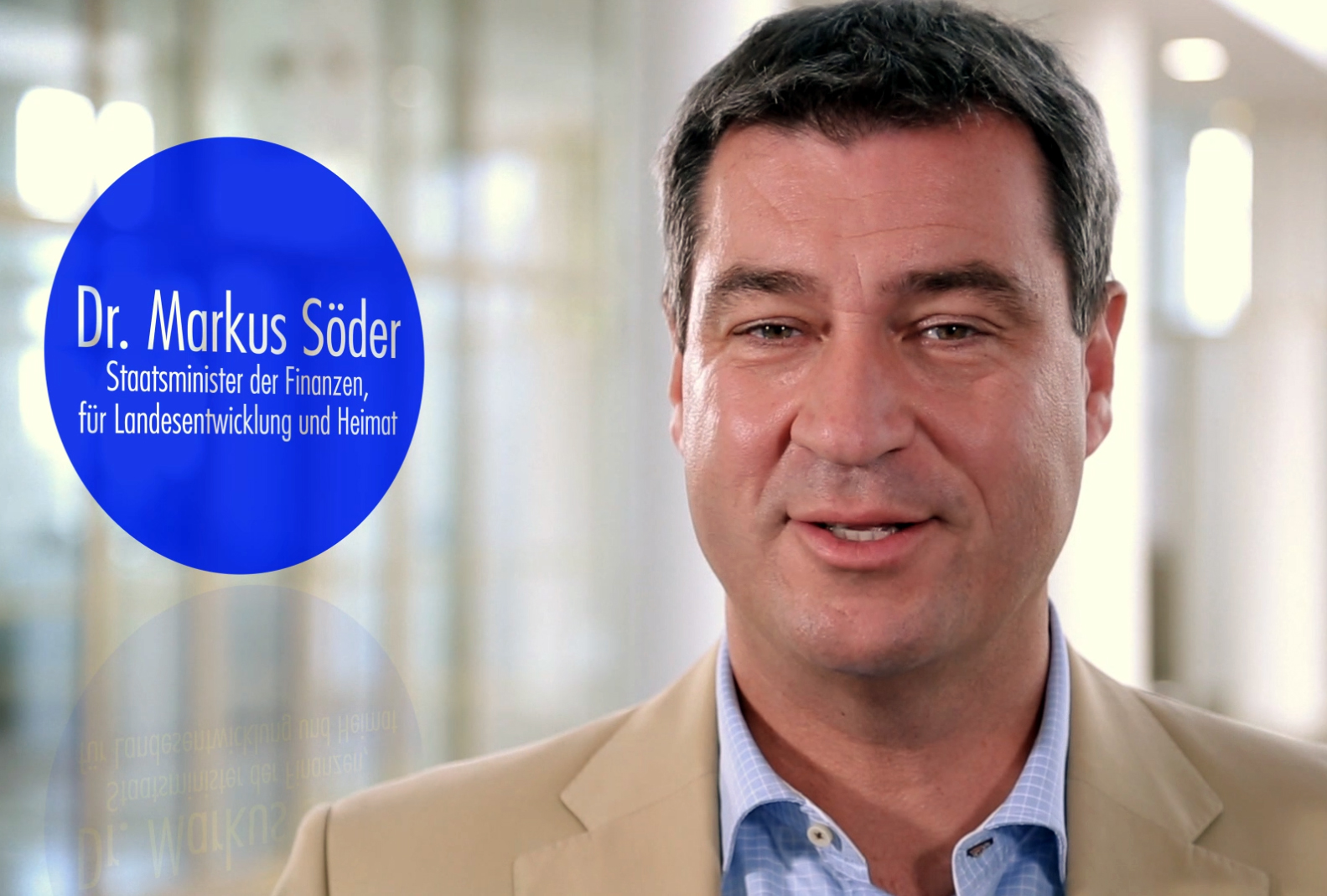 Dr. Markus Söder Ausbildung Finanzamt