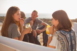 Sonnenuntergang Teneriffa Recruitingvideo Beach Bar